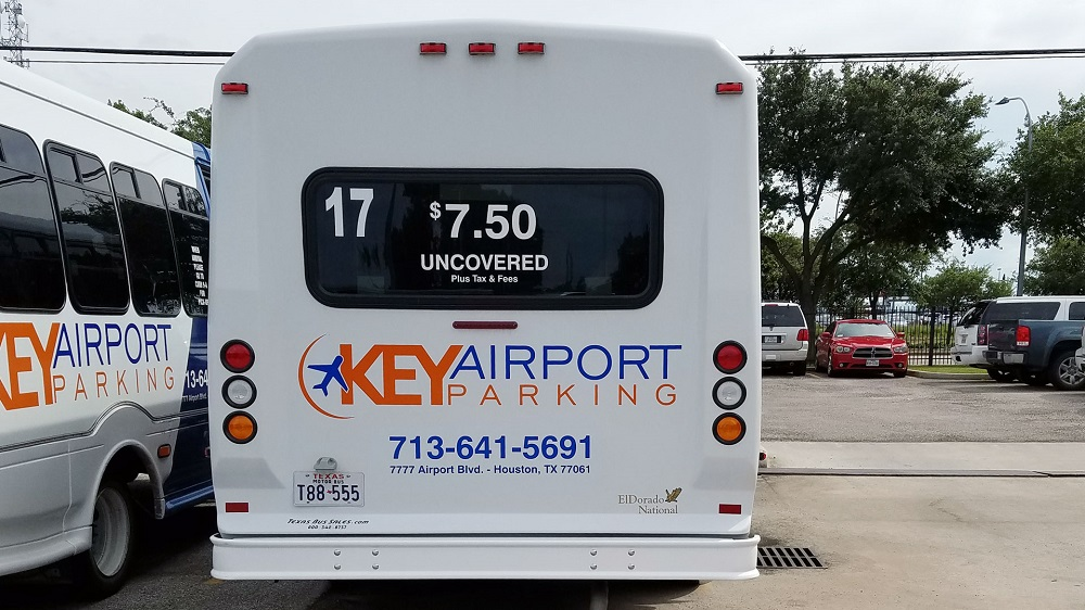 Shuttle service to Hobby Airport in Houston.